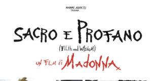 Locandina di Sacro e Profano, primo film di Madonna