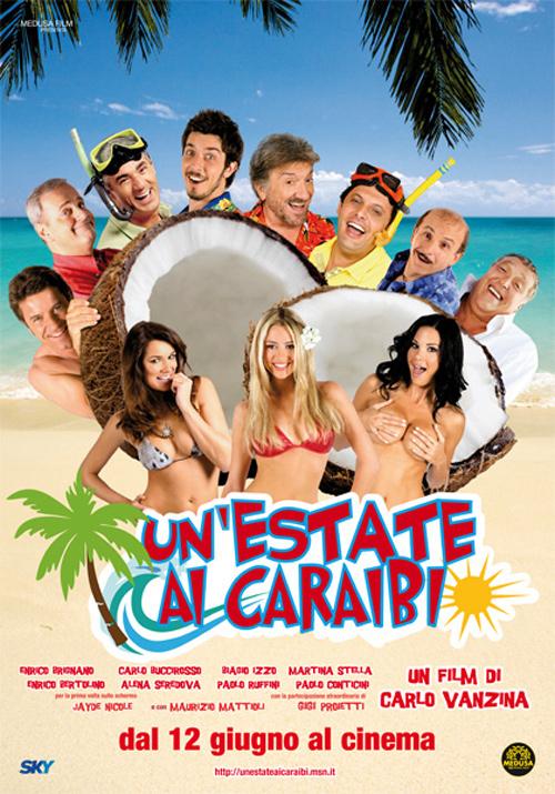 Locandina di Un'estate ai Caraibi, film di Carlo e Enrico Vanzina