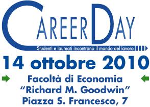 Facoltà di Economia Facoltà di Ingegneria Università degli Studi di Siena - Career Day - 14 ottobre 2010