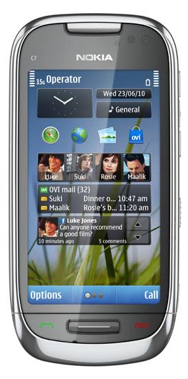 Nokia C7 - frosty metal 1 lores
