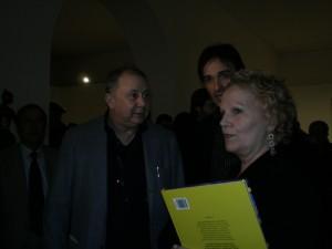 Gianni Molaro con Lele Mora e Katia Ricciarelli