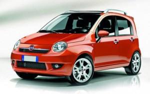 Bozza su ipotetica Fiat Panda 3th generation