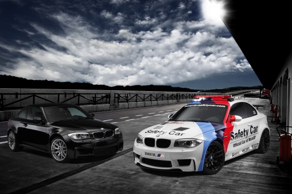 La BMW Serie 1 M Coupé, Safety Car nel MotoGP 2011