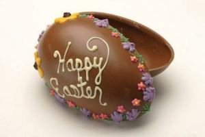 Uovo pasquale di cioccolato