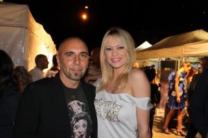 Anna Falchi e Francesco Russo