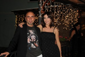 Emanuela Folliero e Francesco Russo
