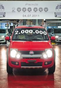 Fiat Panda 2000000 esemplare