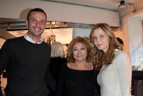 Luca Piperno , propietraio di DOLCE, Laura delli Colli ed Eliana Miglio