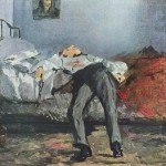 Suicidio, Edouard Manet