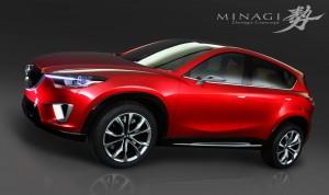 Mazda MINAGI, il concept da cui deriva Mazda CX-5