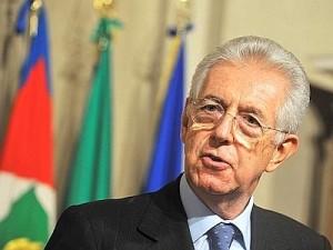 Il presidente Monti presenta il decreto semplificazioni
