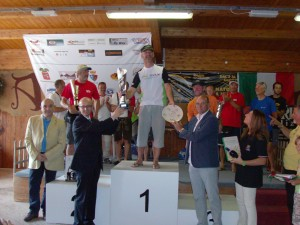Parapendio - podio campionato italiano 2011