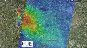 Terremoto Emilia-Romagna, deformazione suolo