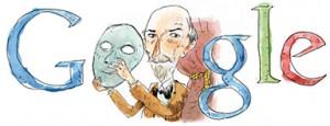 Luigi Pirandello doodle google