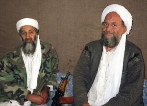 Al Zawahiri e Osama Bin Laden