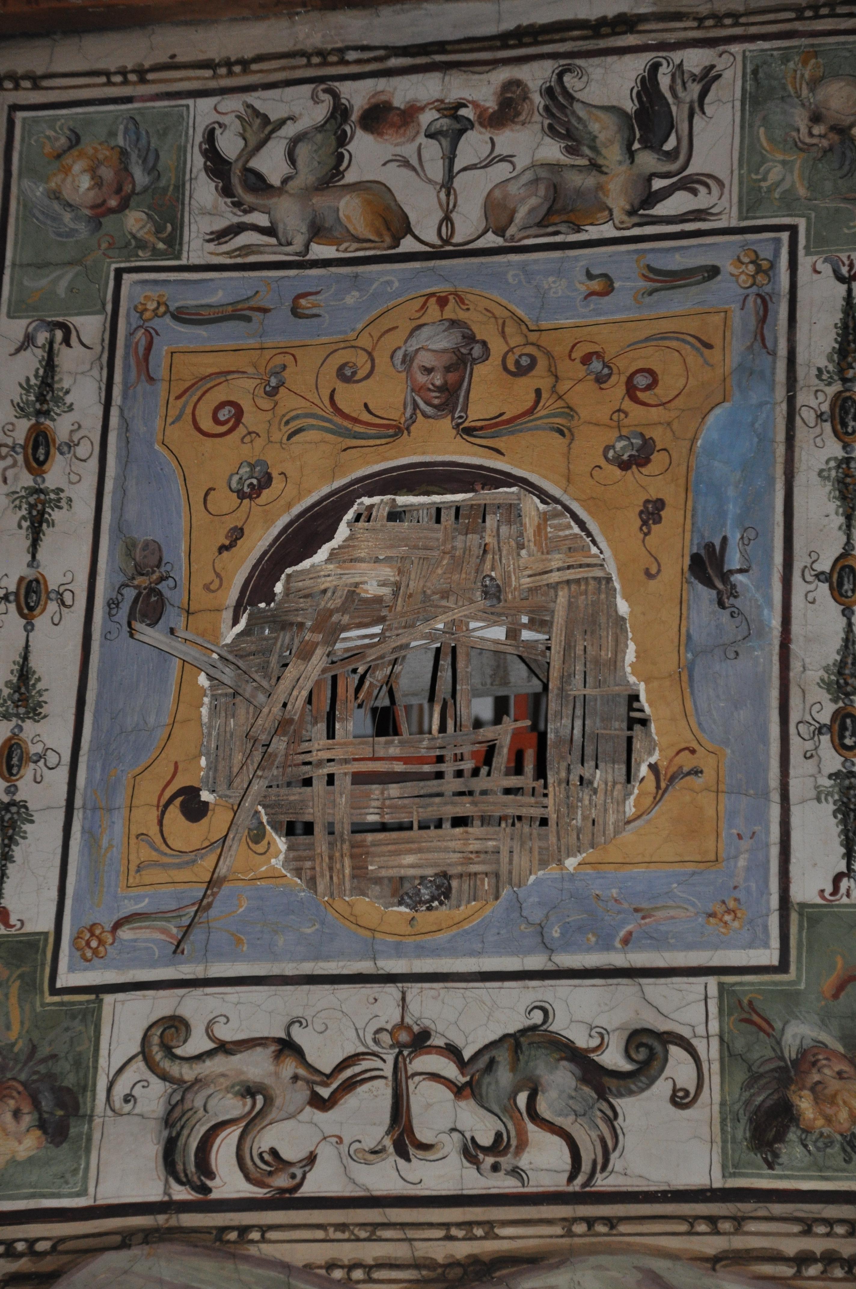 Galleria degli Uffizi affresco