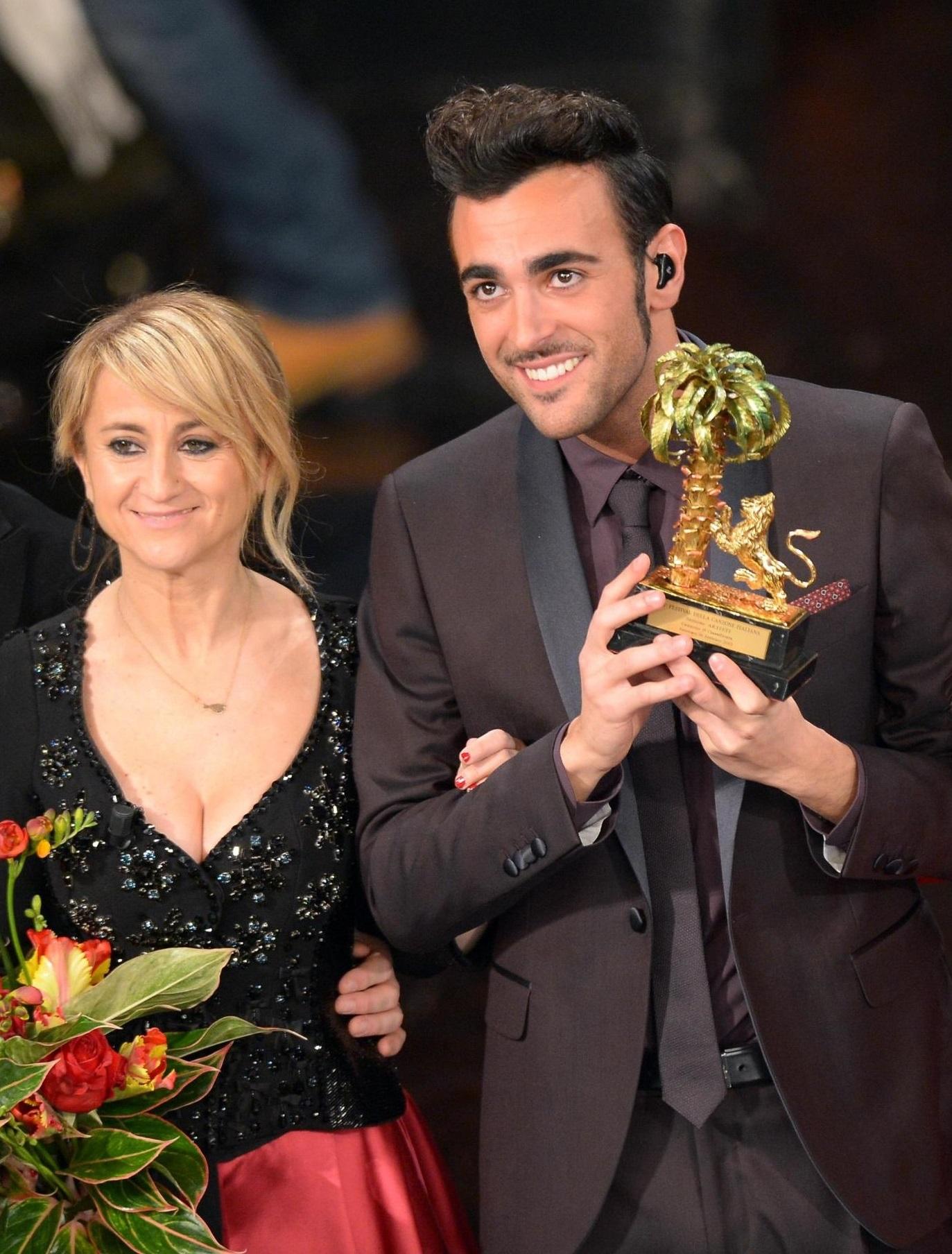 Marco Mengoni vince il Festival di Sanremo 2013