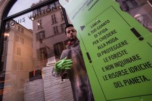 Guanto verde - Greenpeace e Moda