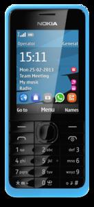 Nokia-301-front