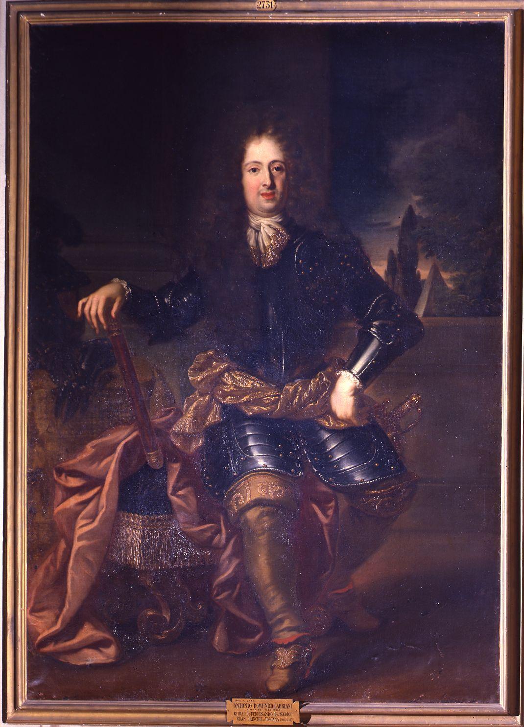 A.D.Gabbiani_Ritratto del Gran Principe Ferdinando