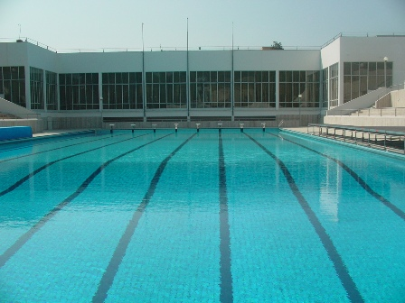 piscina olimpica mostra d'oltremare