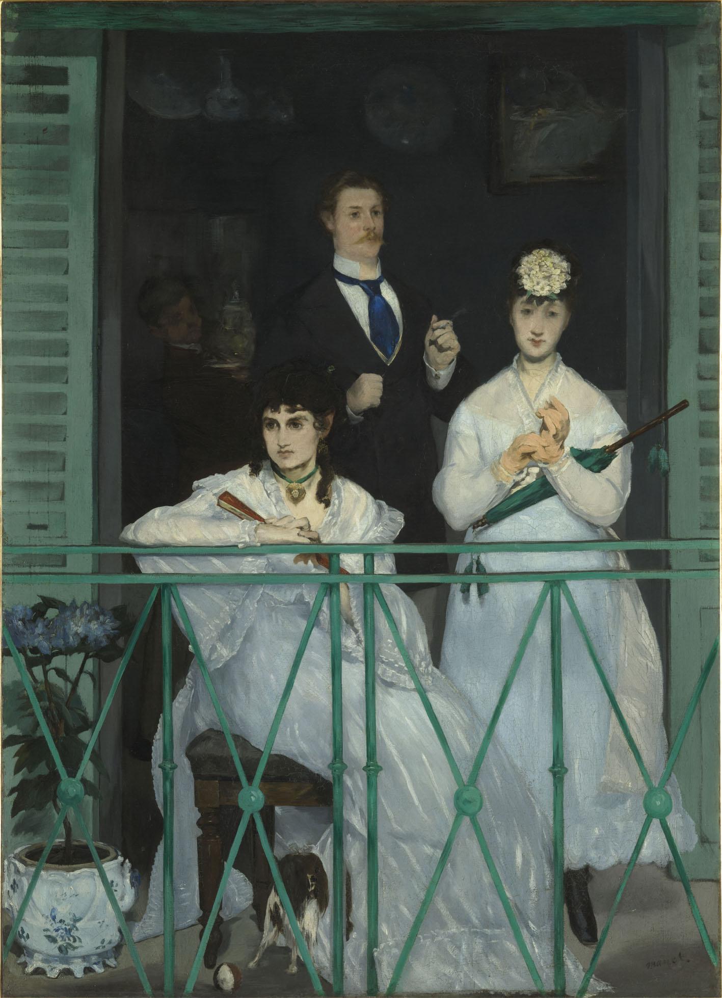 E. Manet, Le balcon, Paris - Musée d_Orsay