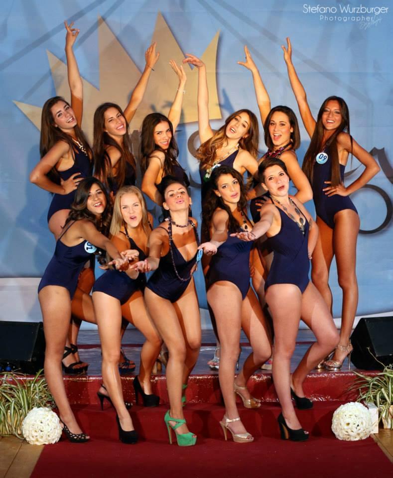 foto gruppo Miss