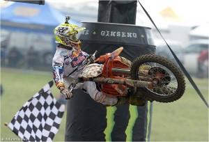 Tony Cairoli Campione del mondo Motocross MX1
