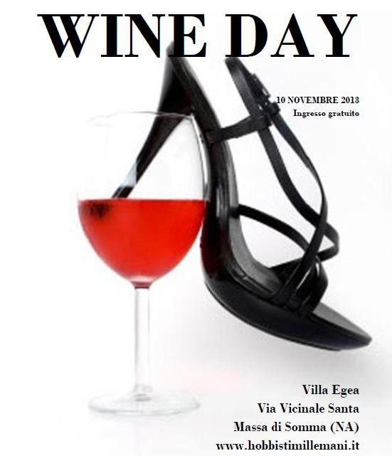 Locandina Wine Day