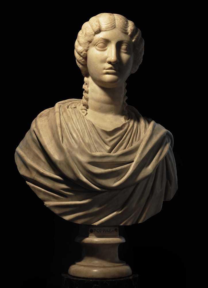 Poppea busto marmoreo - Galleria degli Uffizi