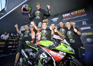 Tom Sykes a Jerez Campione Mondiale SBK 2013