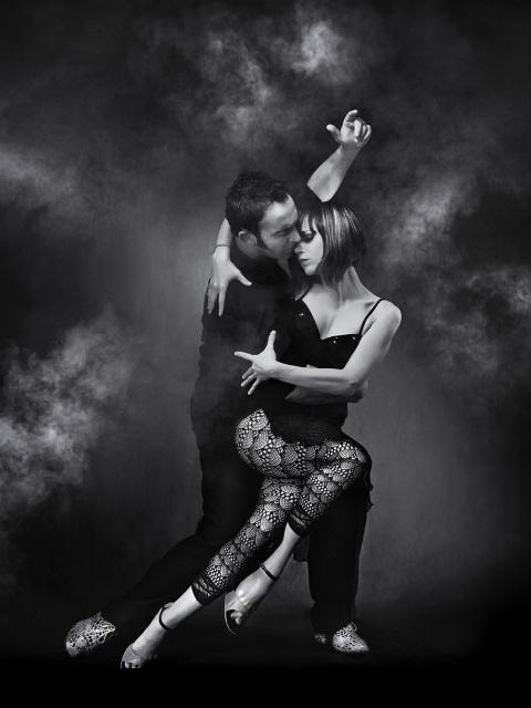 Joe Corbata e Lucila Cionci - ballerini di tango