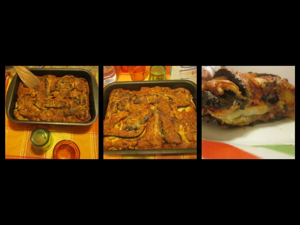Tortino di pane carasau e verdure