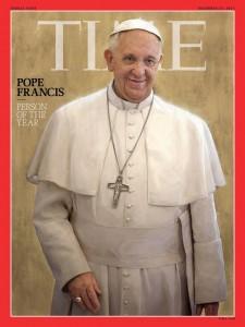 Papa Francesco Perssona dell'anno