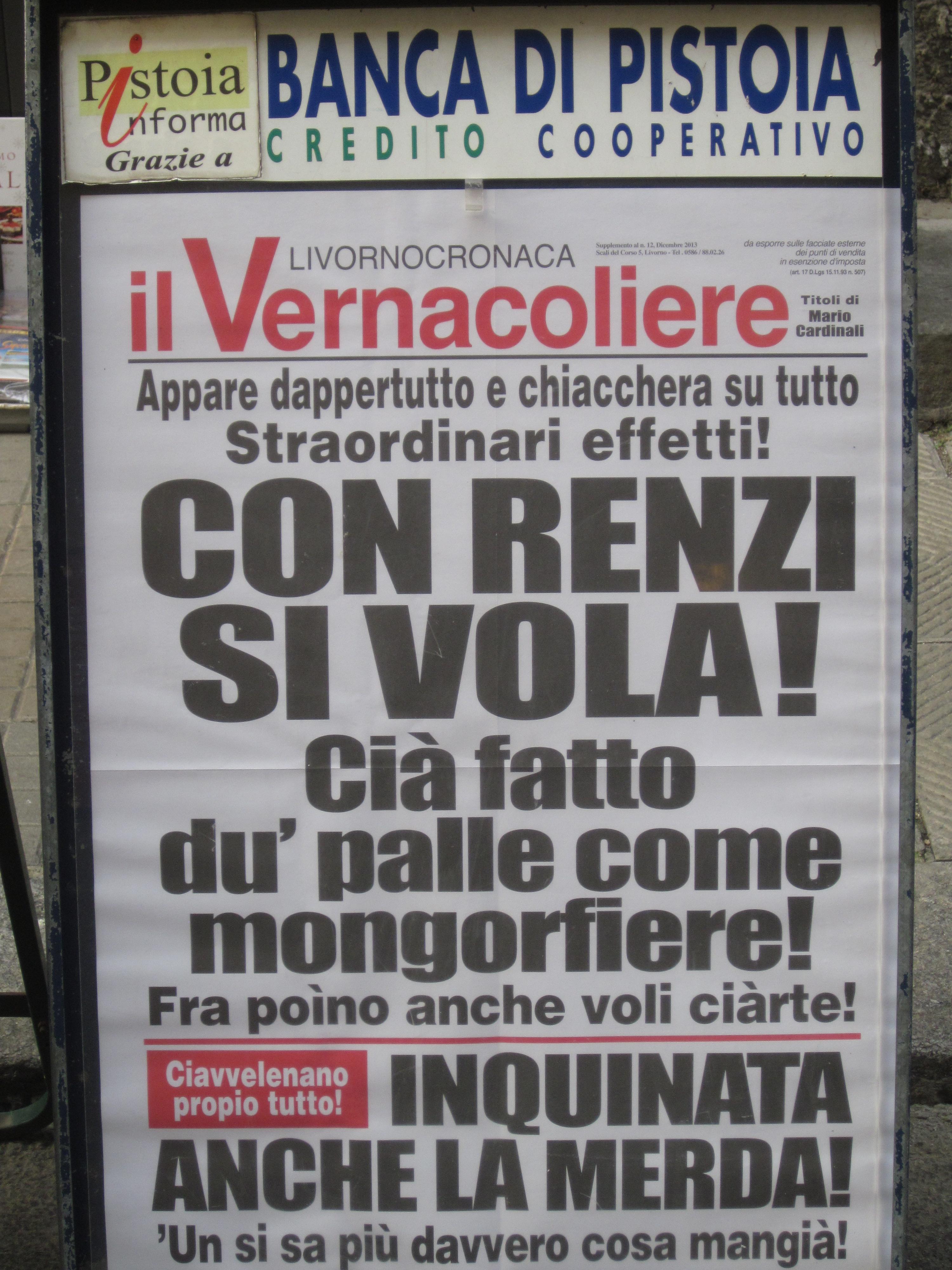 Renzi Vernacoliere
