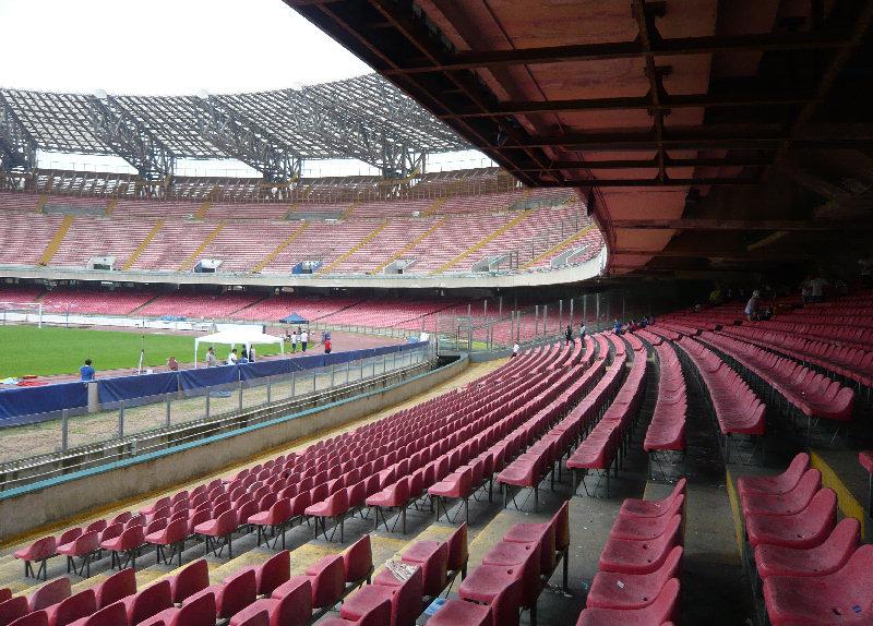 Spalti Stadio SanPaolo di Napoli