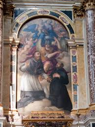 altare di San Francesco di Sales a Vicenza