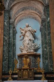 statua Sant'Agnese in Agone Roma