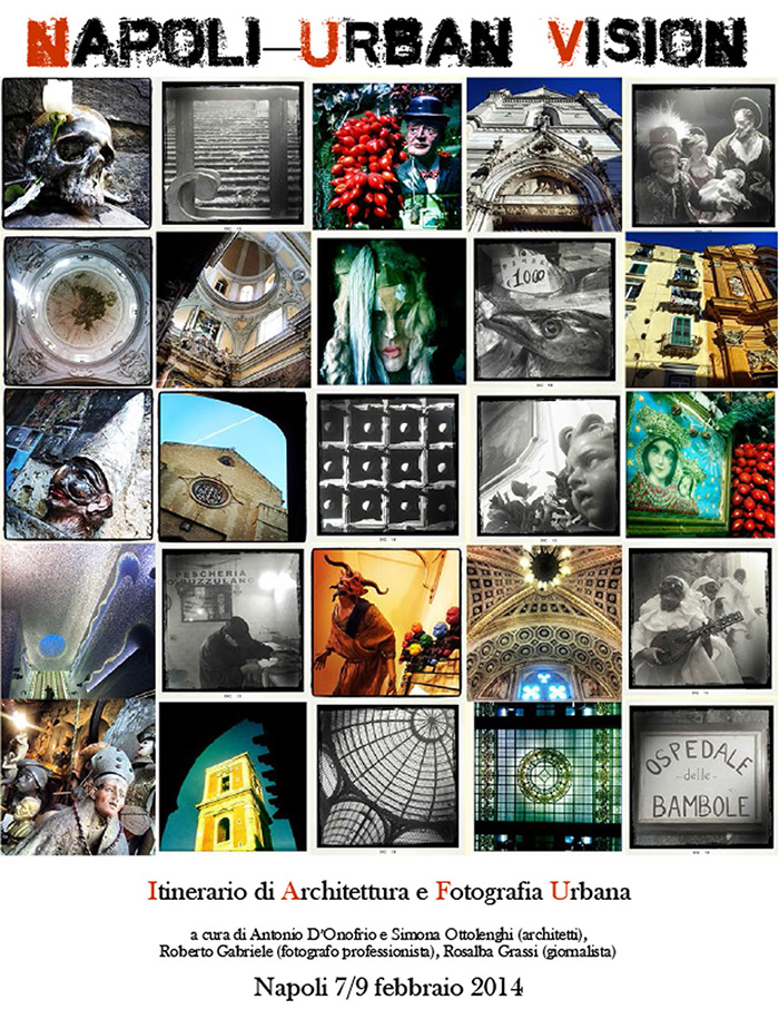 Napoli Urban Vision, workshop di fotografia urbana