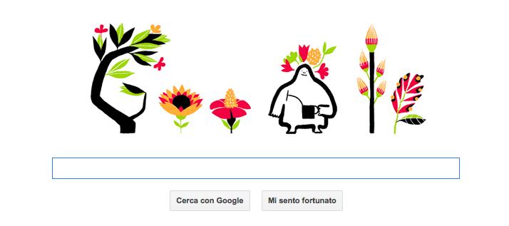 Doodle Google di primavera