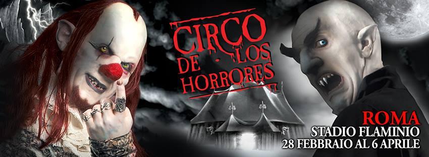 Locandina Circo degli Orrori