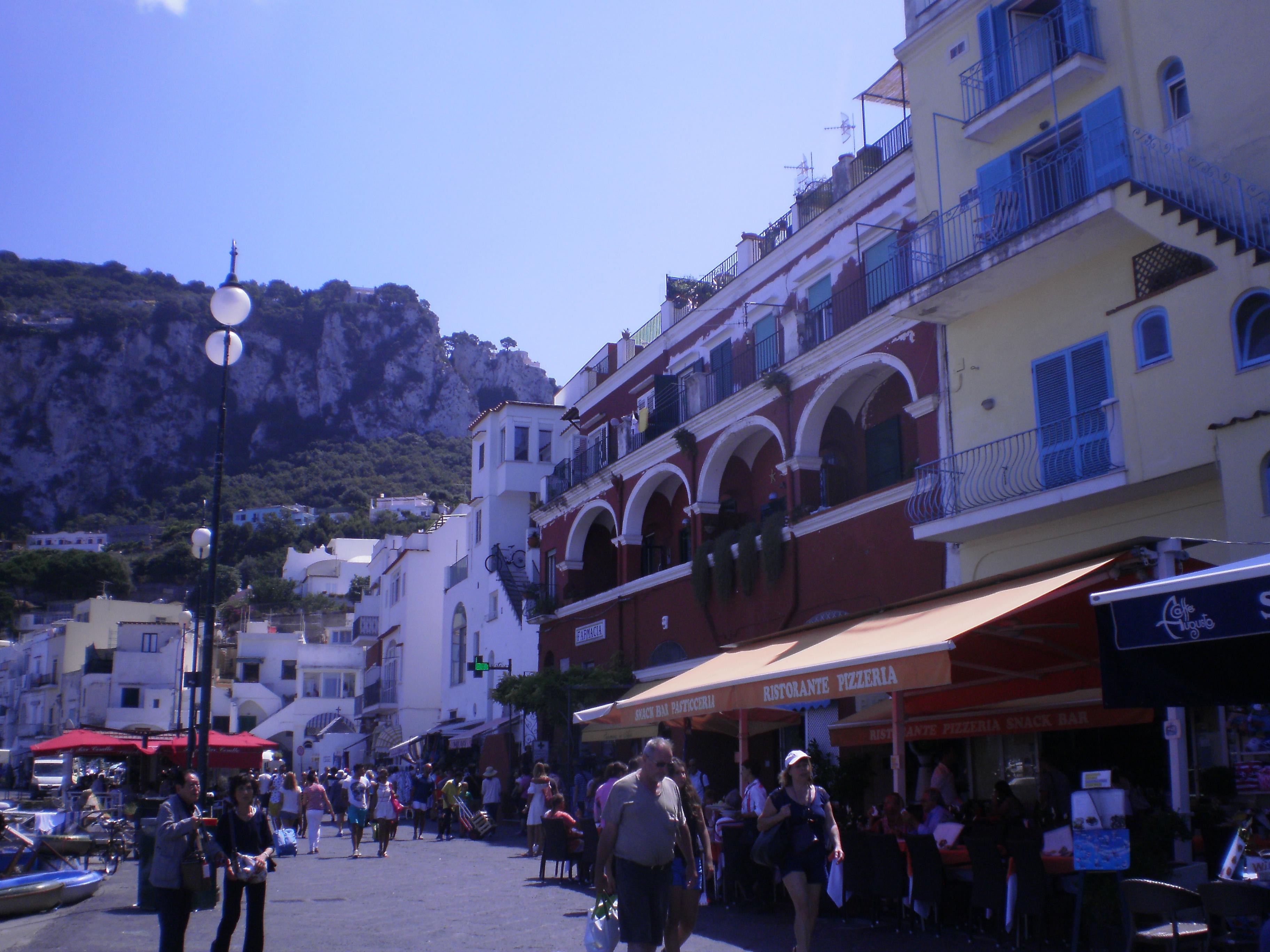 Capri, via Cristofo Colombo