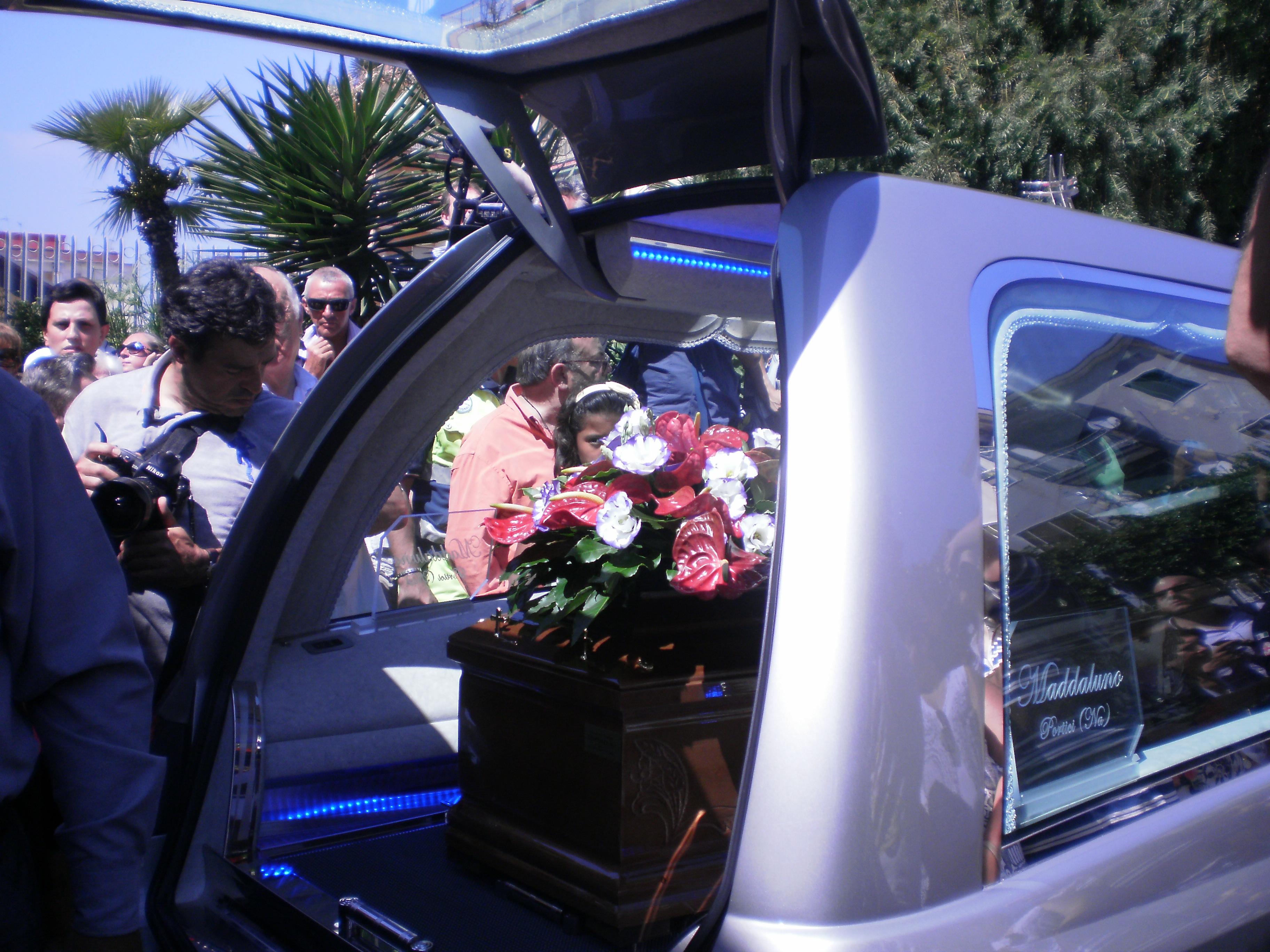 Funerali Mariano Bottari