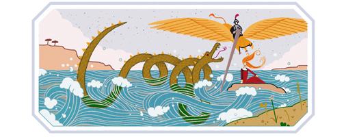 Doodle Google su Ludovico Ariosto