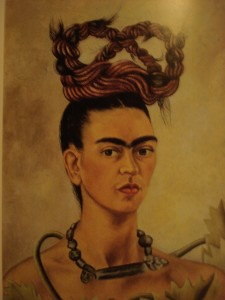 Frida Kahlo, autoritratto