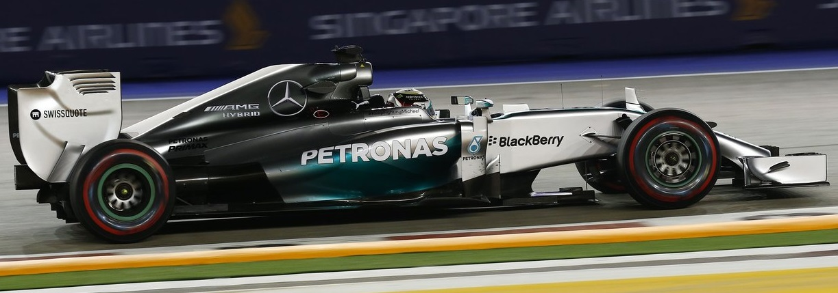 La Mercedes vince il GP di Singapore 2014