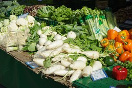 Ortaggi freschi e verdure