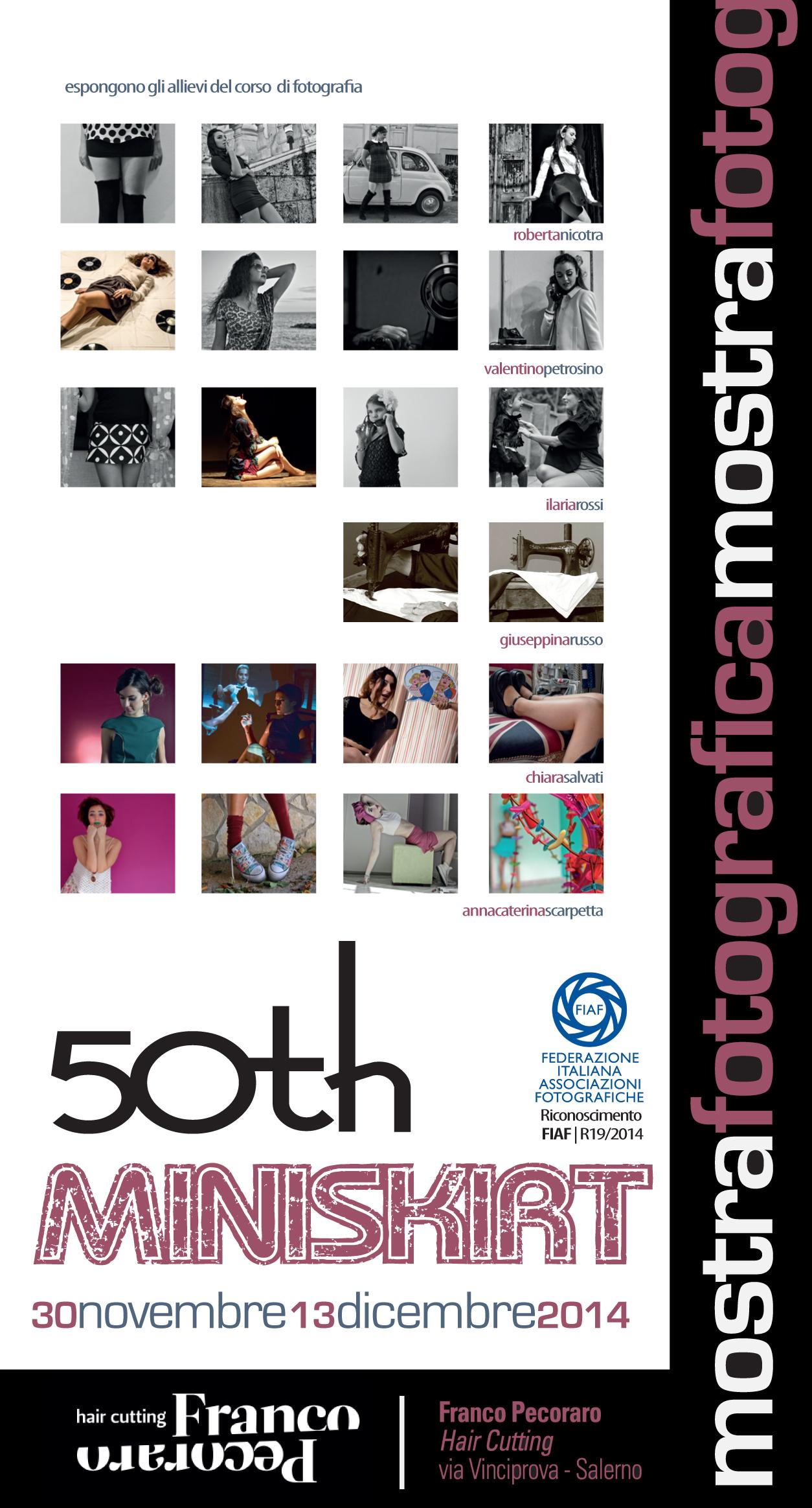 50 anni della minigonna a Salerno