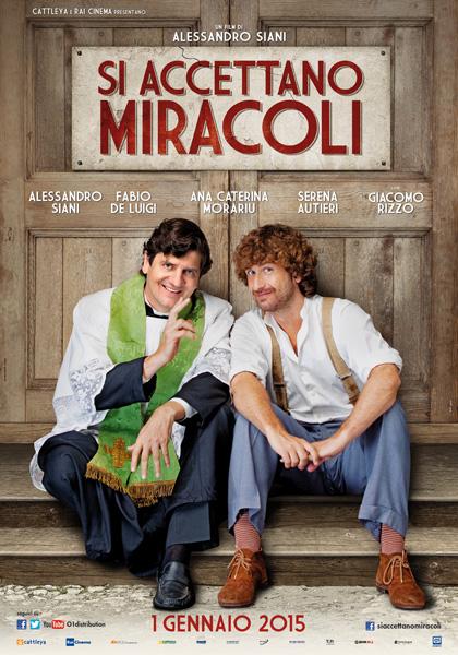 locandina del film Si accettano miracoli