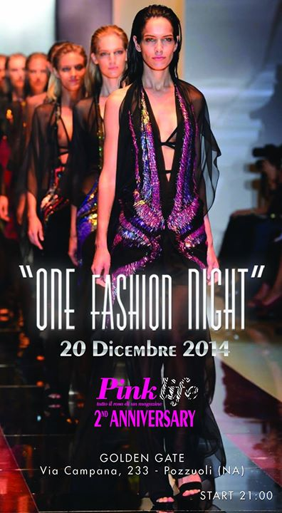 locandina one fashion night
